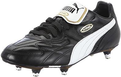 b4f9326a5 PUMA King Pro Soft Ground, Men's Football Competition Shoes, Black  (Black/White