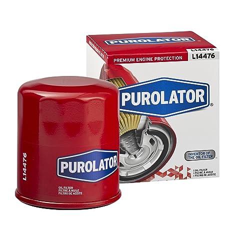 Amazon.com: Purolator L14476 Filtro de aceite.: Automotive