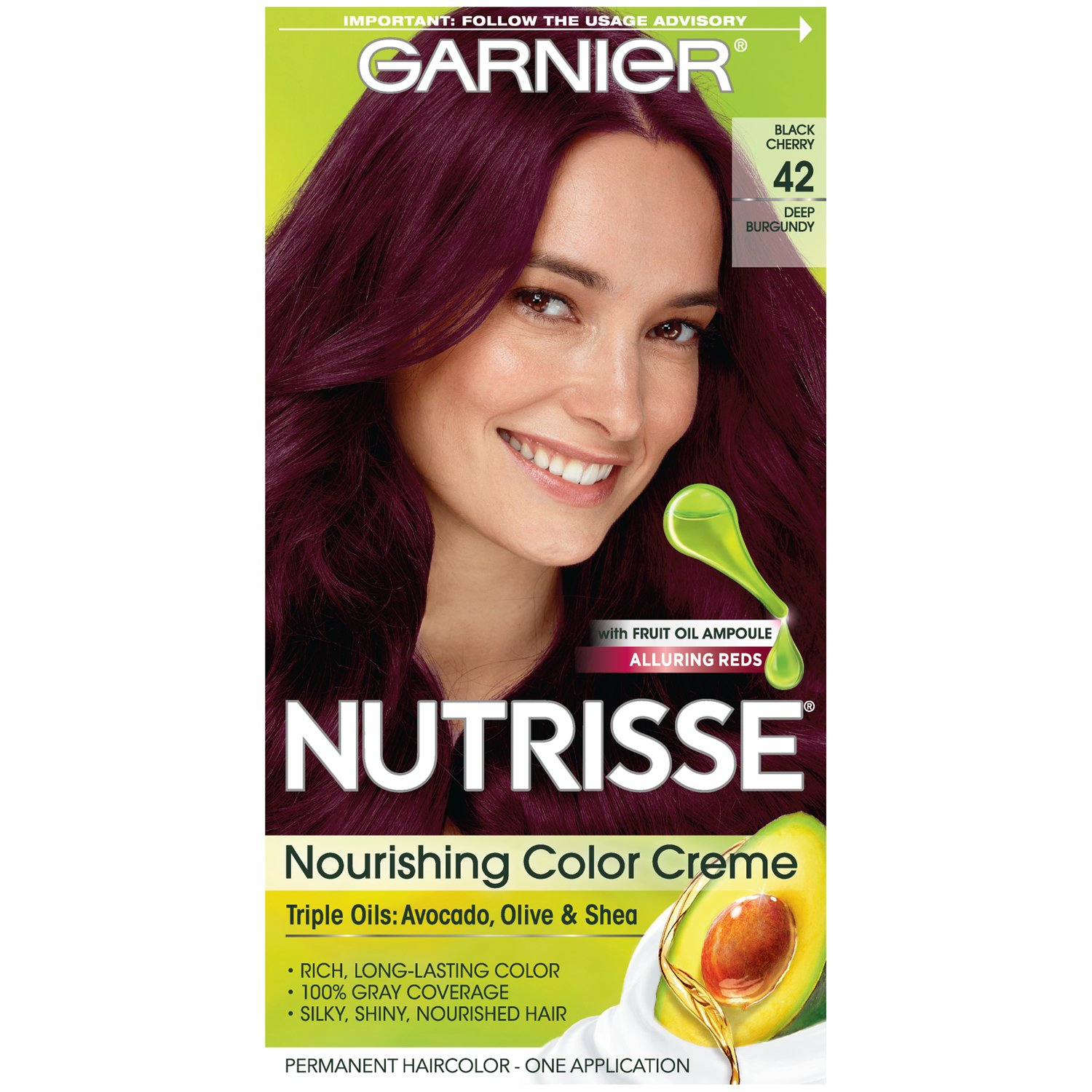 Amazon Garnier Nutrisse Nourishing Hair Color Creme 42 Deep