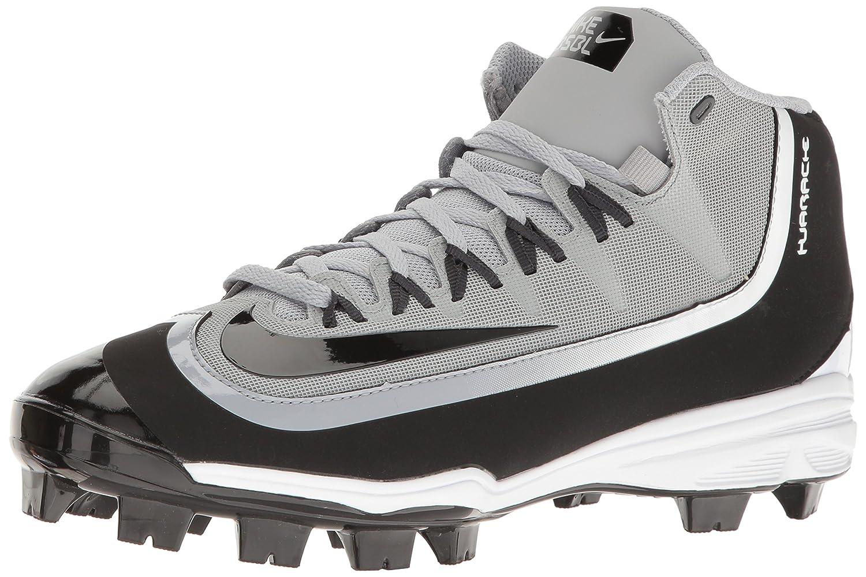 Nike Huarache 2KFilth Mens Pro Baseball Cleat  9 D(M) US|Wolf Grey/Black/Anthracite/White
