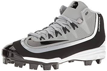9cce283e63fa Nike Men's Huarache 2KFilth Pro Baseball Cleat Wolf Grey/Anthracite/White/ Black Size