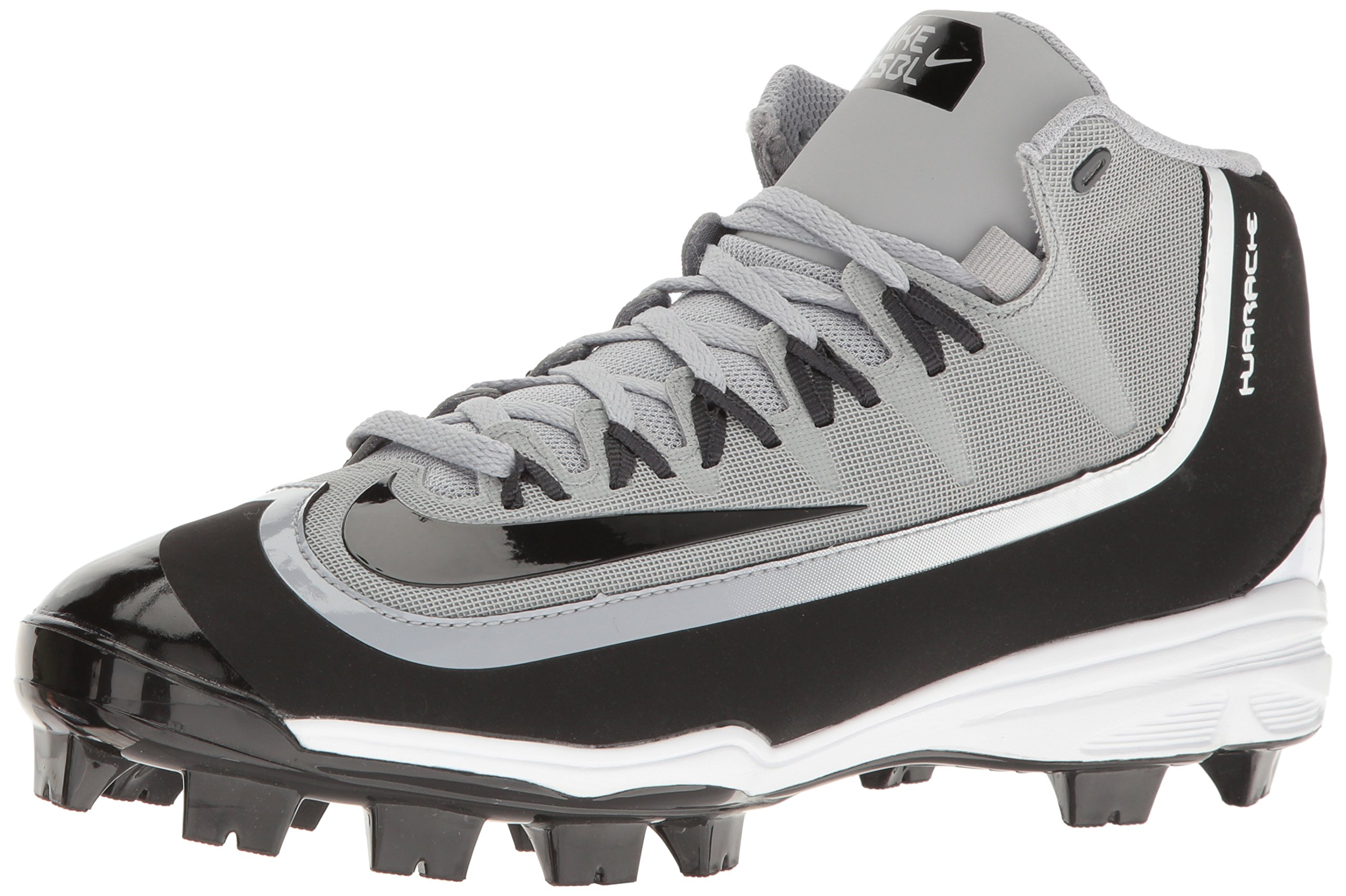Nike Huarache 2KFilth Men s Pro Baseball Cleat  8.5 D(M) USWolf Grey/Black/Anthracite/White