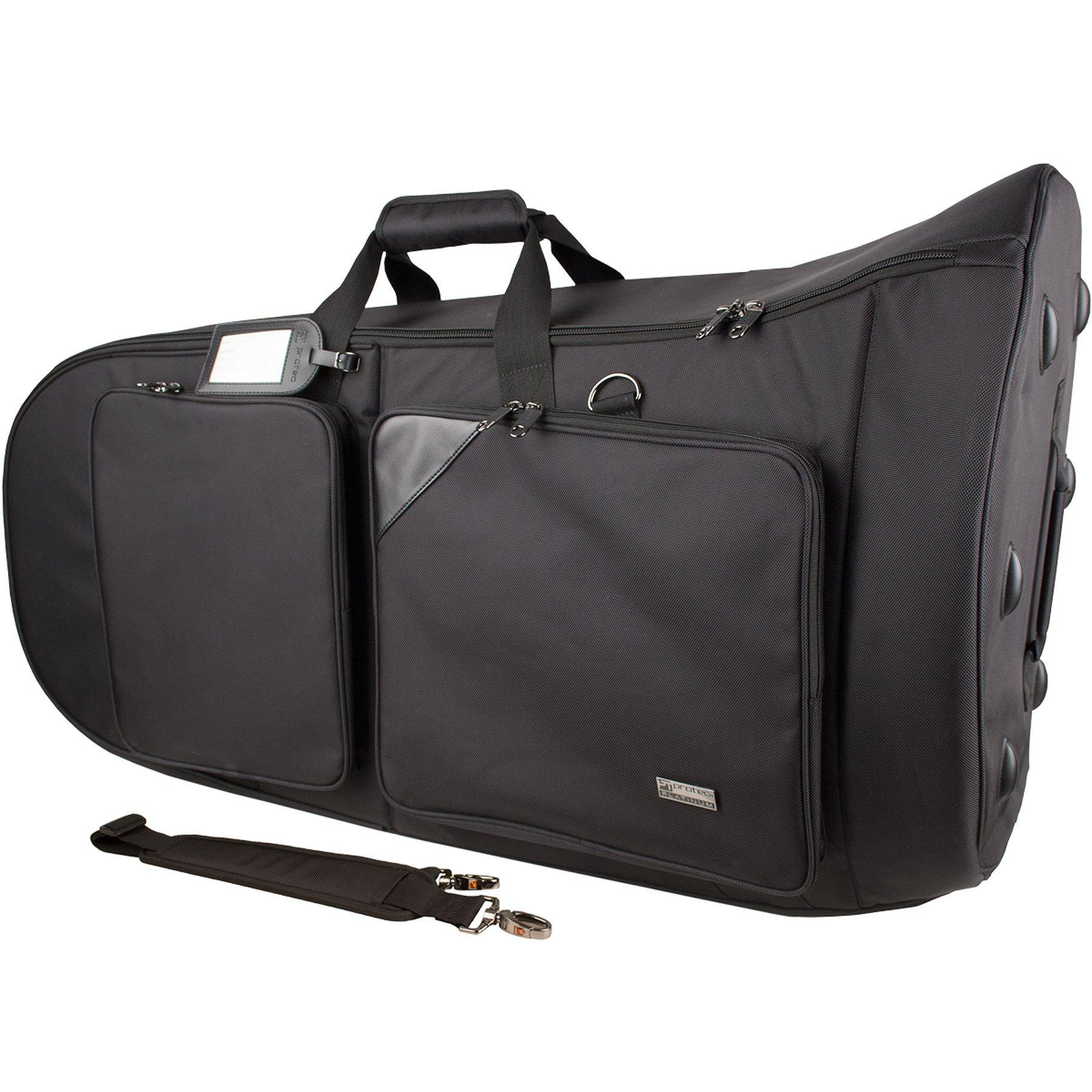 Pro Tec PL251 Smaller Tuba Gig Bag, Platinum Series