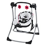 Graco Cozy Duet Swing Plus Rocker, Azalea
