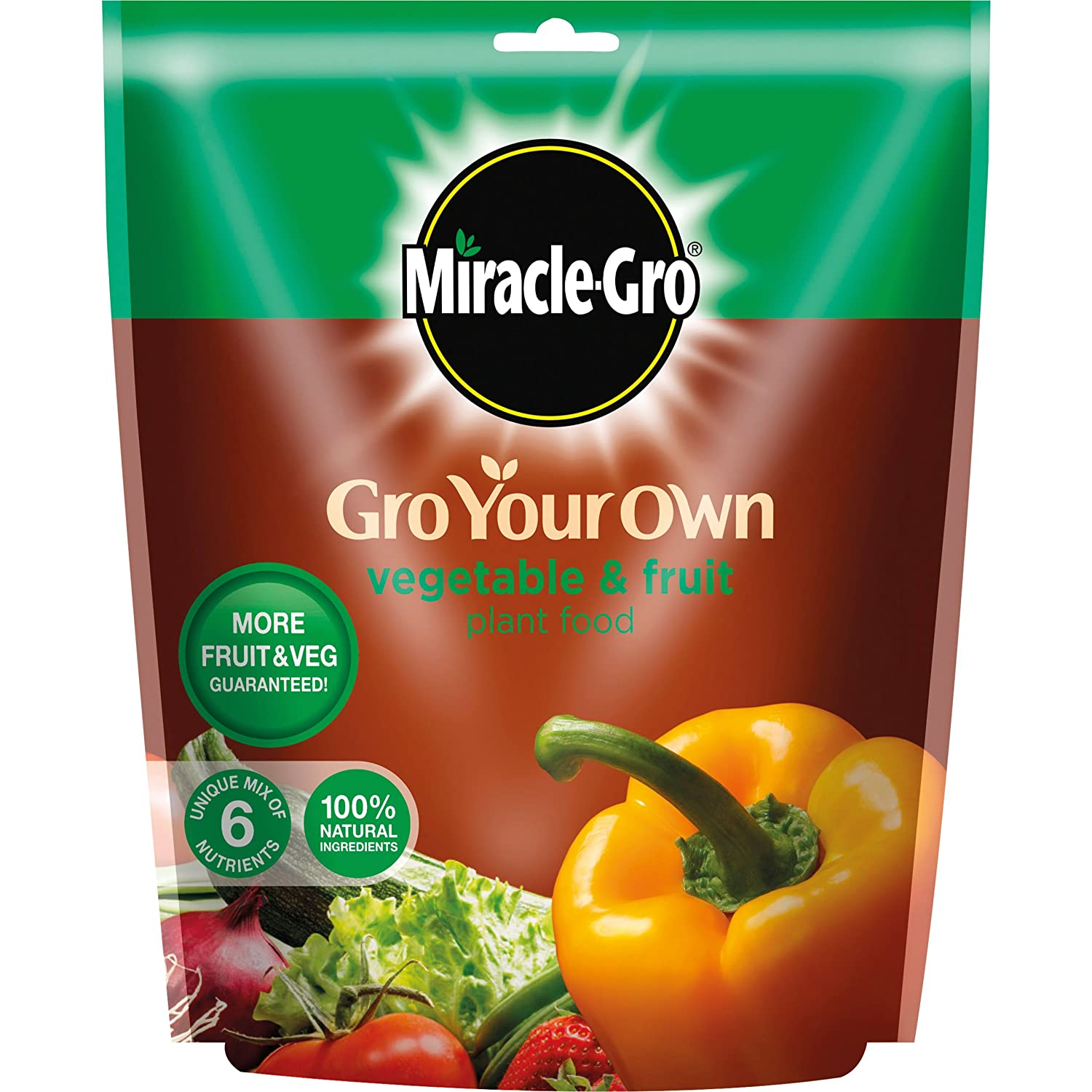 Miracle-Gro Grow Your Own Fruit and Vegetable Plant Food 1.5kg Evergreen Garden Care Ltd 15220