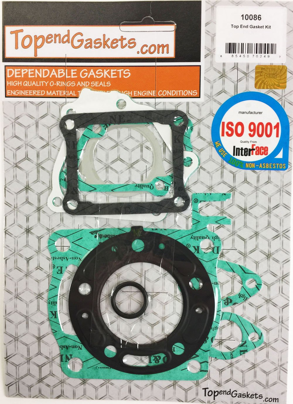 1997 TopendGaskets Brand Gasket Kit Replacement for Honda CR125R 1990