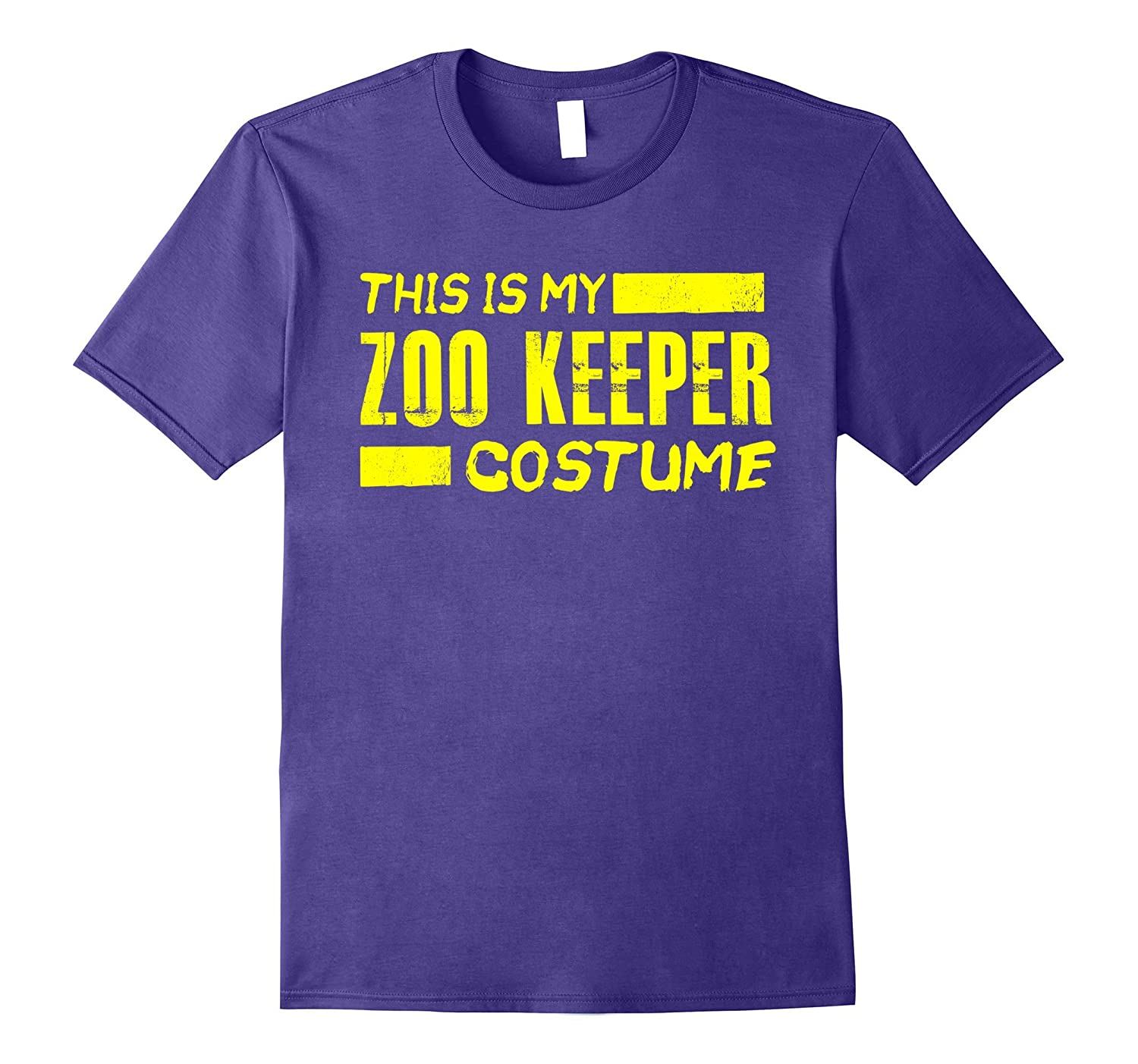This is my Zoo Keeper Costume Funny Halloween Holiday Shirt-T-Shirt