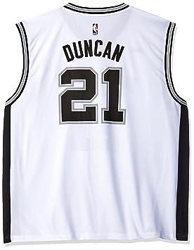 Adidas NBA San Antonio Spurs Tim Duncan # 21 DE la réplica de la Camiseta de