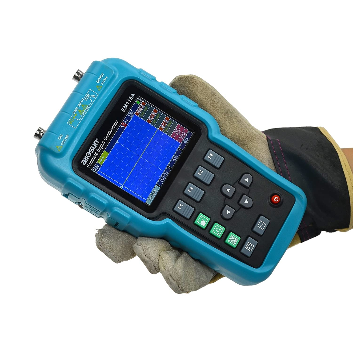 allsun 3 in 1 Digital Oscilloscope Meter with USB Computer Interface Multimeter DMM 50MHz Single Channel