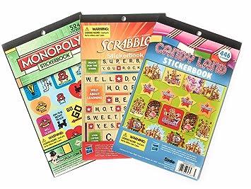 Paquete de pegatinas con diseño de Monopoly y Scrabble de ...