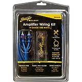 "STINGER SSK4ANL 4Ga 1000W Kit de cableado Completo, Azul, 10.25"" x 7"" x 4"""