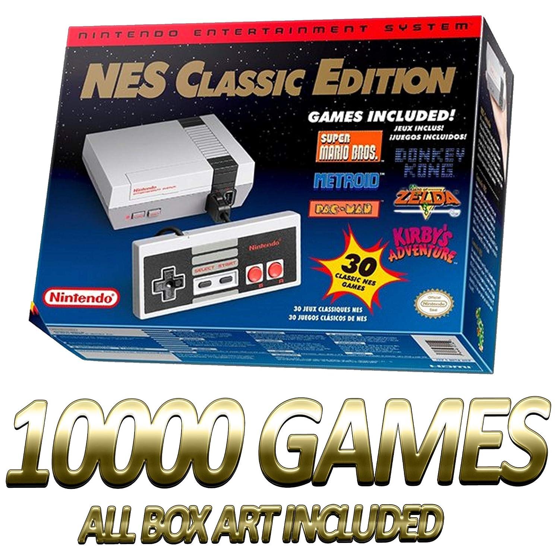 Amazon Com Nes Nintendo Entertainment System 10000 Games Mod Hack