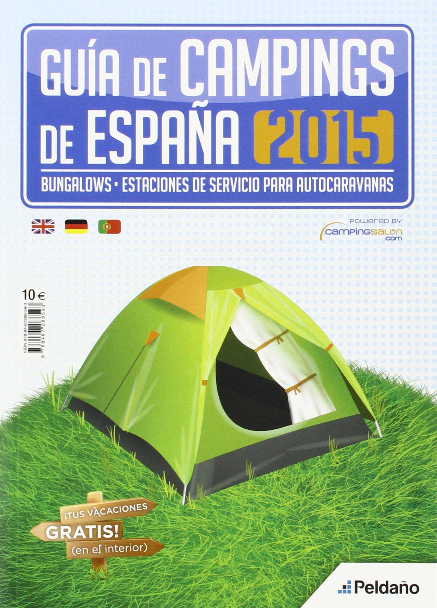 GUIA DE CAMPINGS 2015: Amazon.es: EDICIONES PELDAÑO, S.A.: Libros