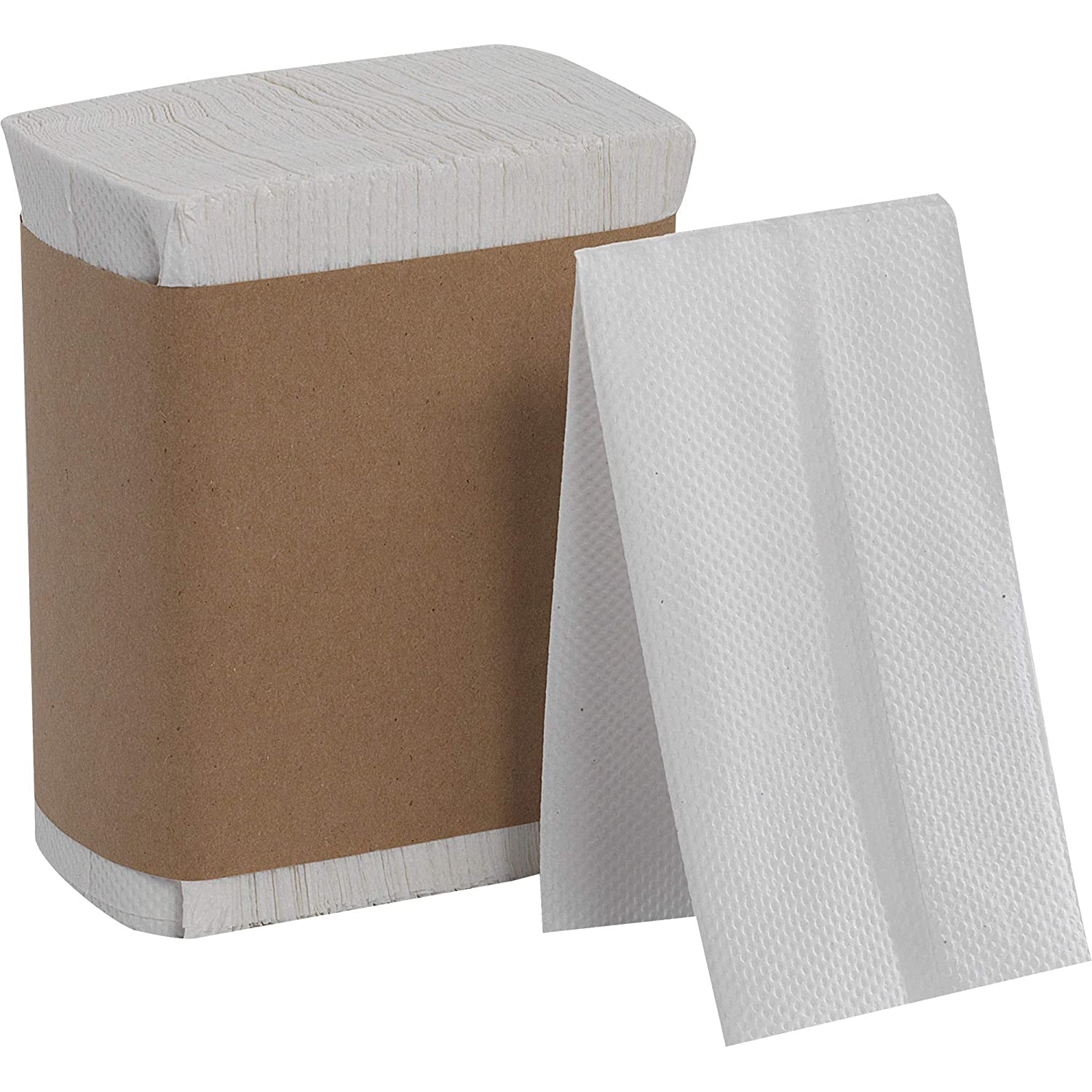Georgia Pacific Hynap 33201 White Tall Fold Dispenser Napkin 13 5 Inch Length X 7 Inch Width Case Of 40 Bands 250 Per Band Amazon Ca Industrial Scientific