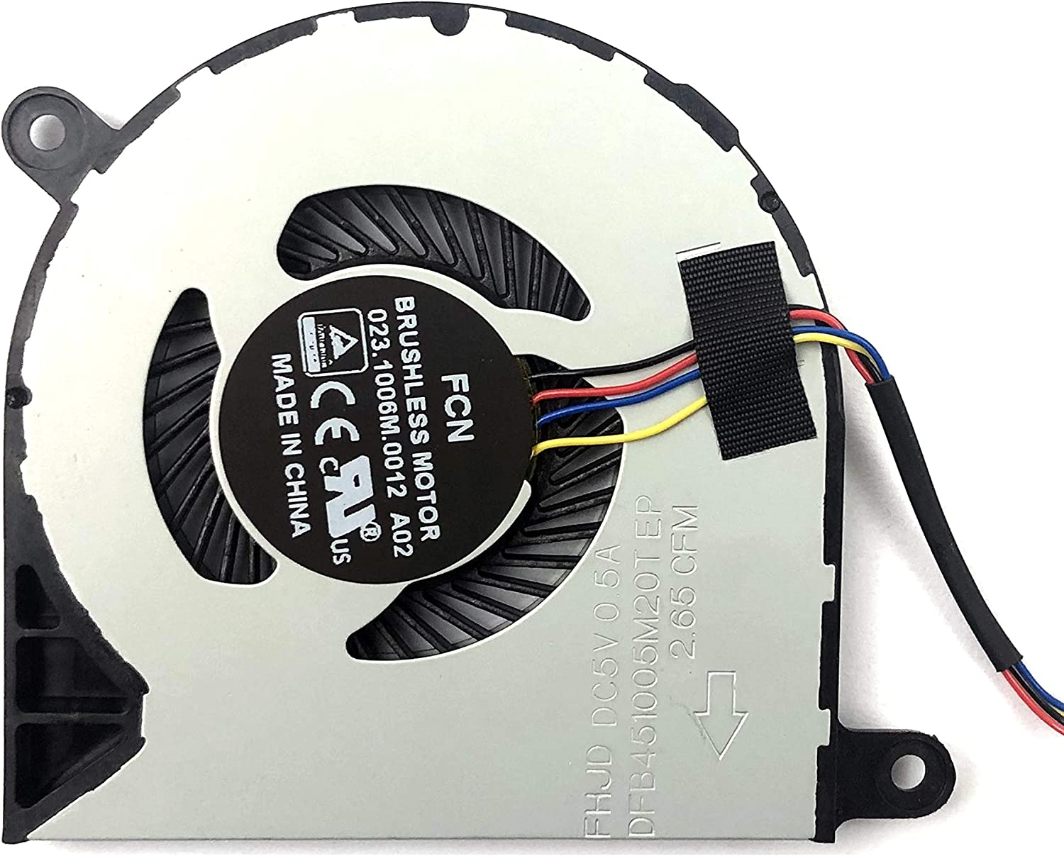 BestParts Replacement CPU Cooling Fan for Dell Inspiron 13 5368 5378 5379 7368 7375 7378,15 5568 5578 5579 7579 7569, Latitude 3390 3379 Series Laptop DP/N CN-031TPT