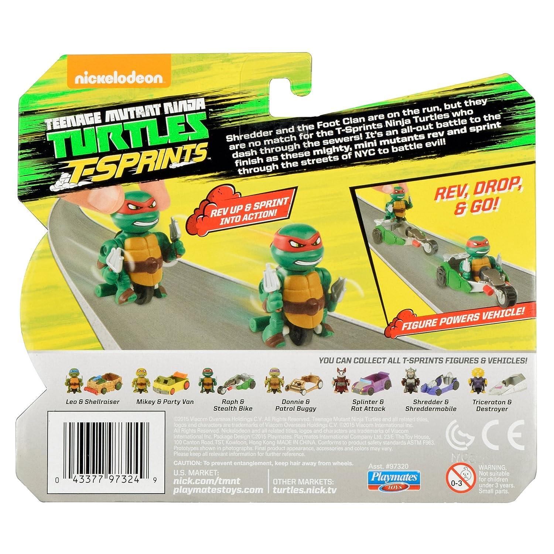 Teenage Mutant Ninja Turtles T-Sprints Rapid Assault Raphael ...
