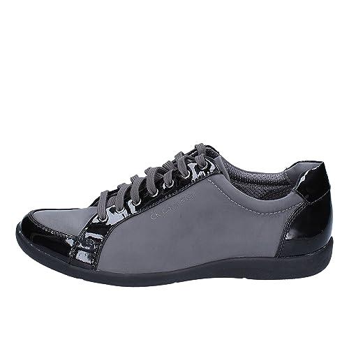 Calvin Klein Mujer Zapatillas de Gimnasia Negro Size: 38 EU: Amazon.es: Zapatos y complementos