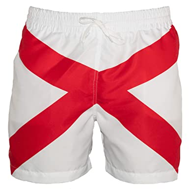 8d06947a4b Meripex Apparel Alabama Swim Trunks: AL (Cheaper Than Chubbies) (Small, AL