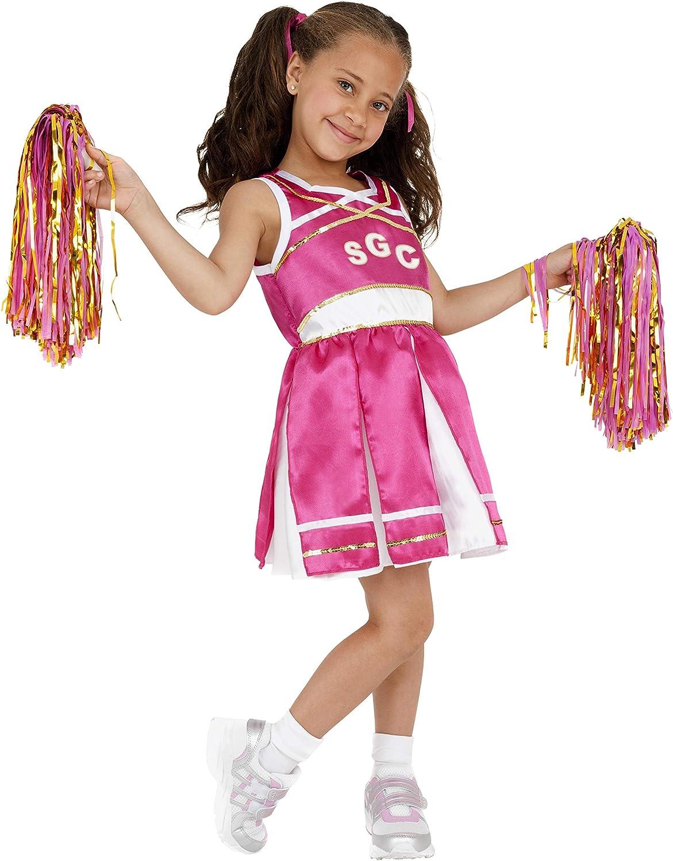 Smiffys - Disfraz de Animadora para niña, Talla M (38645M ...