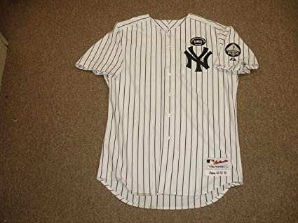 online store 30130 22541 2010 Jeff Nelson NY Yankees Game Issued Old Timers Home ...