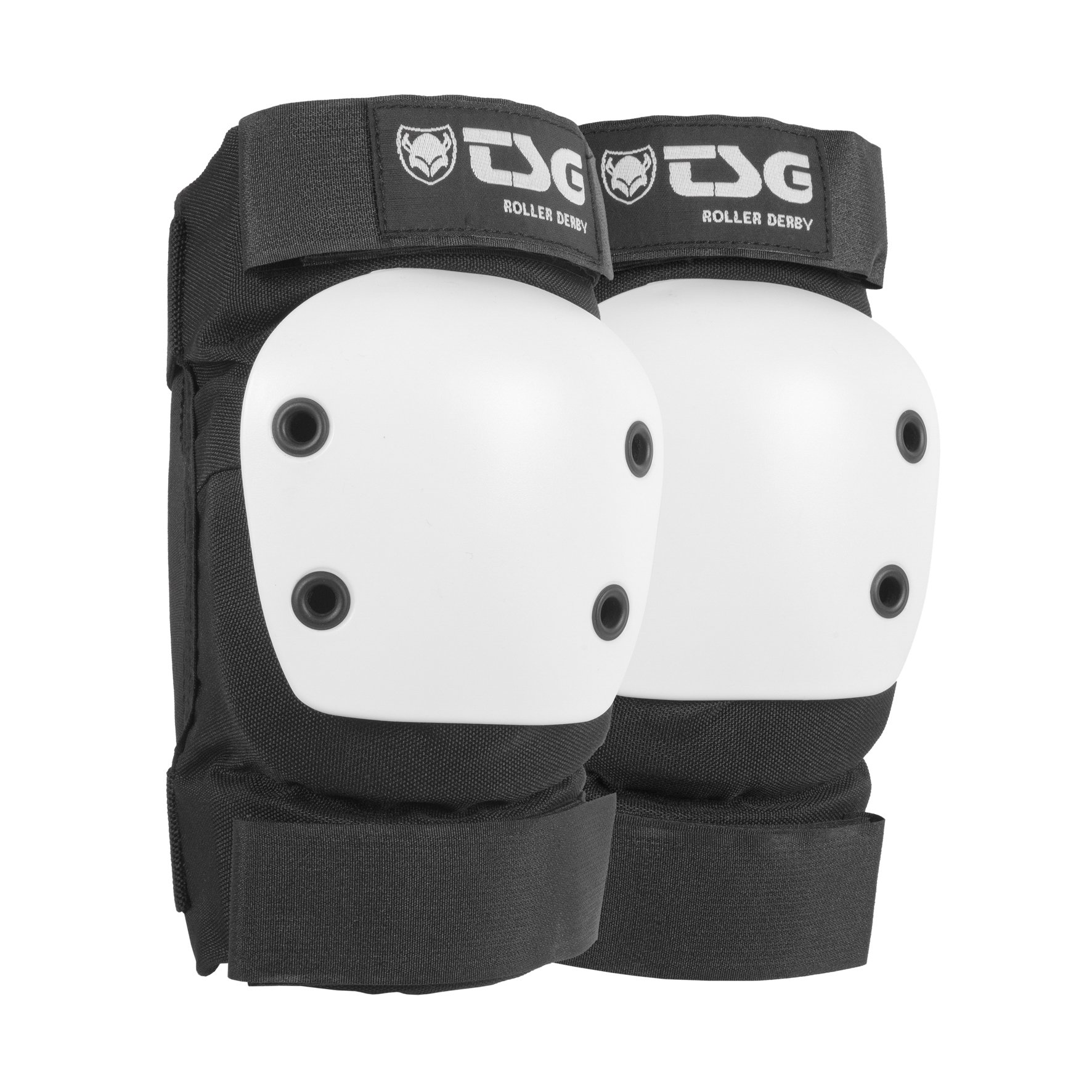 TSG Kneepad Roller Derby 2.0 - Pads for Skateboard (black, XS)