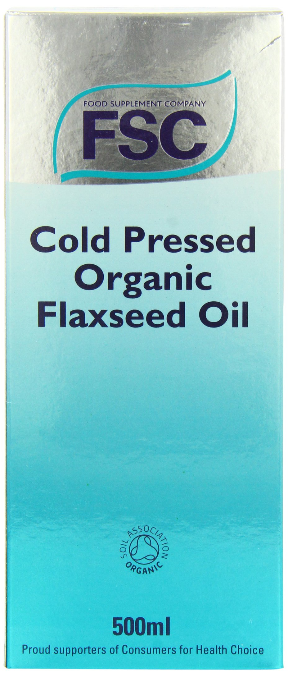 FSC Organic Flaxseed Oil 500ml by FSC