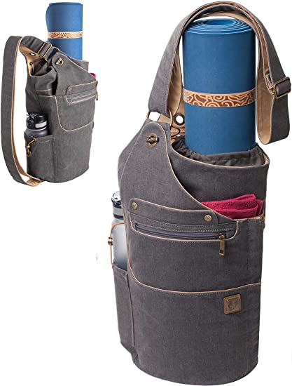 Free Shipping Swank Retro Yoga Mat Bag in Turquoise and Red