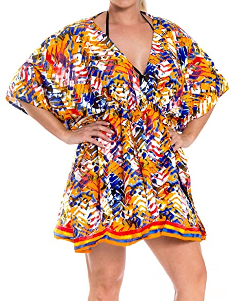 d26dd13f61383 La Leela Beachwear Bikini Beach Cover ups Embroidered Swimsuit ...