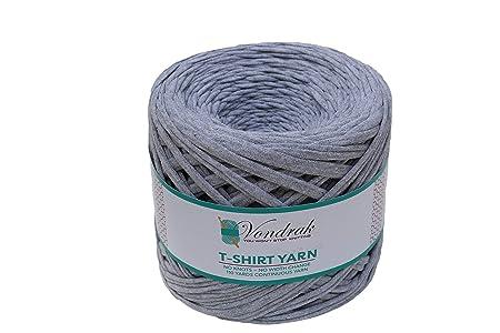 Amazon.com: Hilo para camiseta, 100 % algodón, sin nudos ...