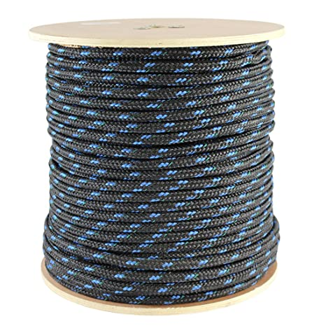 1cf7a9ab048d ... SGT KNOTS - Foam-Core Floating Line - Polypropylene Rope - for Boating,  Commercial & Sport Fishing, Camping, Backpacking, More (50 ft - 600 ft,  Black)