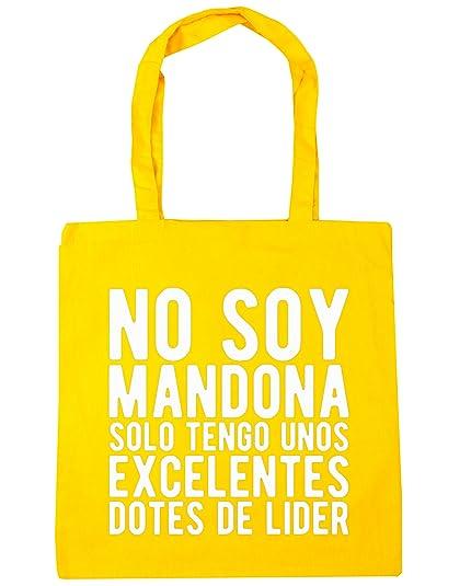 HippoWarehouse NO SOY MANDONA SOLO TENGO UNOS EXCELENTES DOTES DE LÍDER Bolso de Playa Bolsa Compra