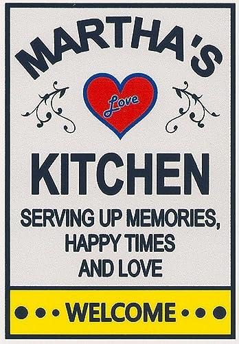 marthas kitchen customize for any name three sizes love refrigerator magnet - Marthas Kitchen