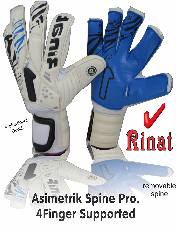 Rinat Asimetrikリムーバブル脊椎Professional ( white-blueサイズ8 ) 4指保存 B078T4PKMM