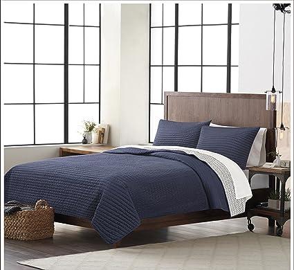 Amazon Com Cribmate 100 Cotton Quilt Set Solid Cotton Bedding Set