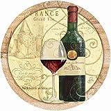 Thirstystone Drink Coaster Set, Wine Passion I