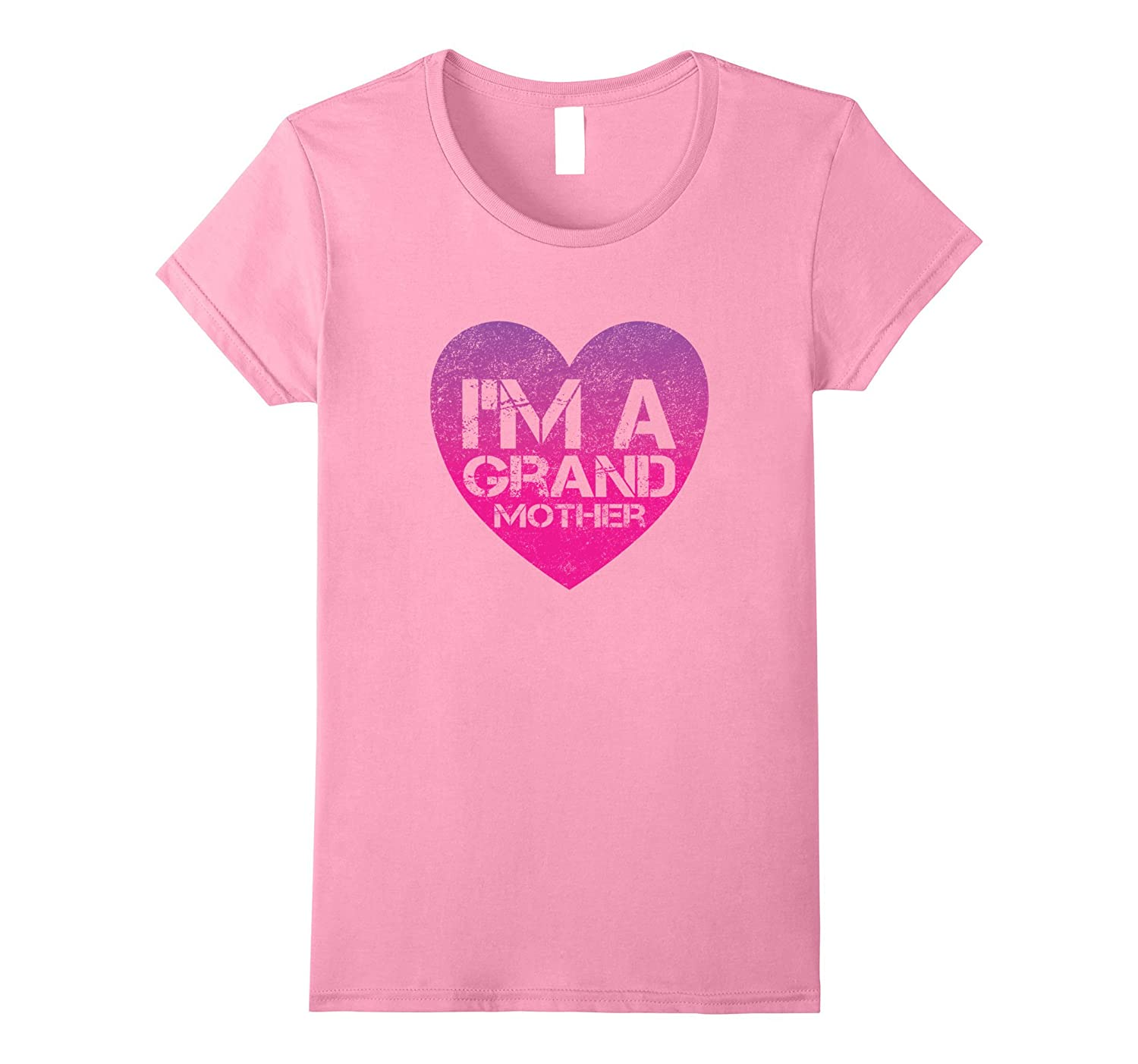 Womens I'm A Grand Mother Gift for New Grandma T Shirt-FL