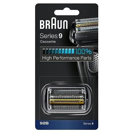Braun 92B - Recambio y Repuesto para Afeitadora Eléctrica Compatible con  las Máquinas de Afeitar Series 9 e1fefeb14038