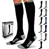 SB SOX Lite Compression Socks (15-20mmHg) for Men & Women - Perfect for Spring/Summer - Best Stockings for Running, Medical, Athletic, Travel, Pregnancy