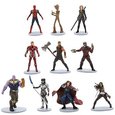 6 Figuren Spielset MARVEL NEU Ant-Man and the Wasp Comic-Action- & -Spielfiguren
