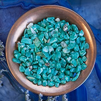 Sage Goddess Amazonite Chip Stones