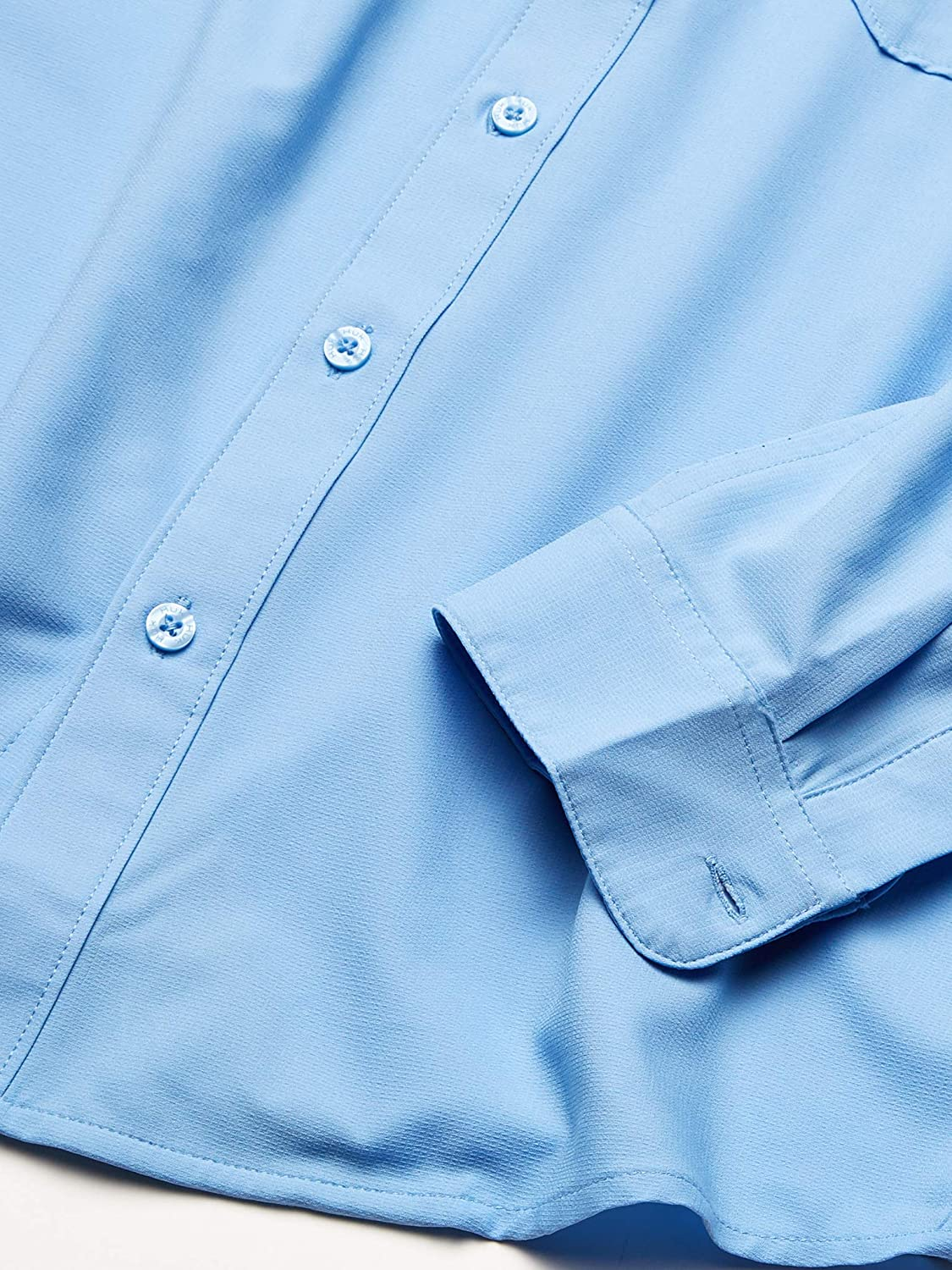 Button Down Performance Shirt With Upf 30 HUK mens Tide Point Woven Solid Long Sleeve Shirt Sun Protection