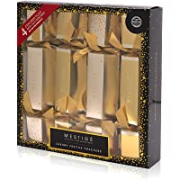 Mestige Jewellery Christmas Cracker 4-Pack - Gold