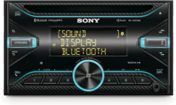 Sony WX-GS920BH Double-DIN CD Receiver with Bluetooth