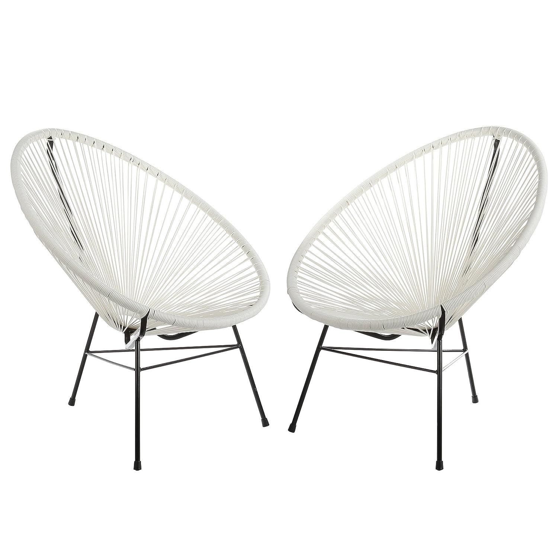 Amazon.com   Acapulco Woven Basket Lounge Chair 6922ac57ddc