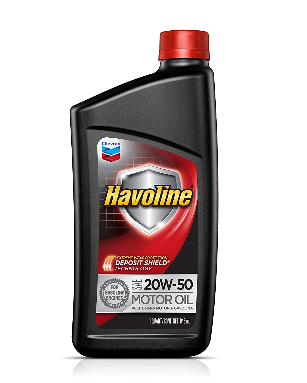 Havoline 20W-50 Motor Oil - 5 qt.