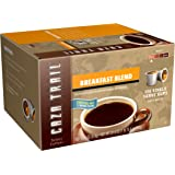 Caza Trail Coffee, Breakfast Blend, 100 Single Serve Cups