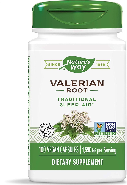 Nature's Way Valerian Root, 530 mg, 100 Capsules,