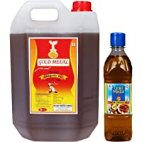 Gold Medal Virgin Gingelly Oil, 5.5 litre (5Litre + 500ml - Pack of 2)