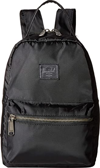 f50e396f6f6 Herschel Flight Satin Nova Mini Backpack black  Amazon.co.uk  Clothing