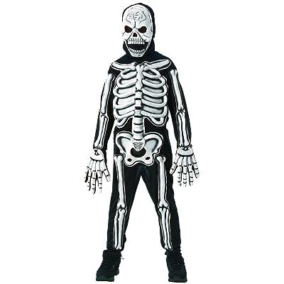 Kids 3D Skeleton Halloween Costume: Toys & Games
